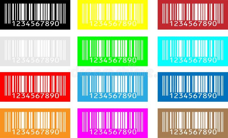 De codigo de barras ilustración del vector