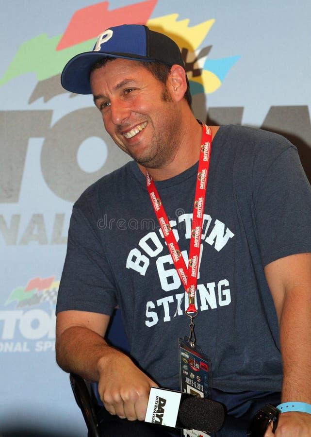 De Cokes van Adam Sandler Attends NASCAR Nul 400 stock foto