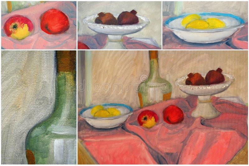 De collage van de kunst vector illustratie