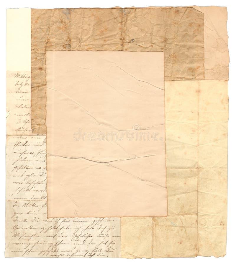 De Collage van het document royalty-vrije stock foto's