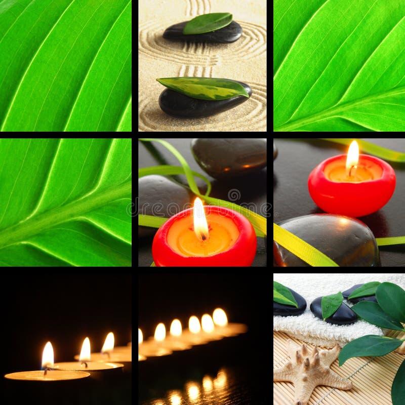 Download De Collage Van Het Kuuroord Stock Foto - Afbeelding: 14492382