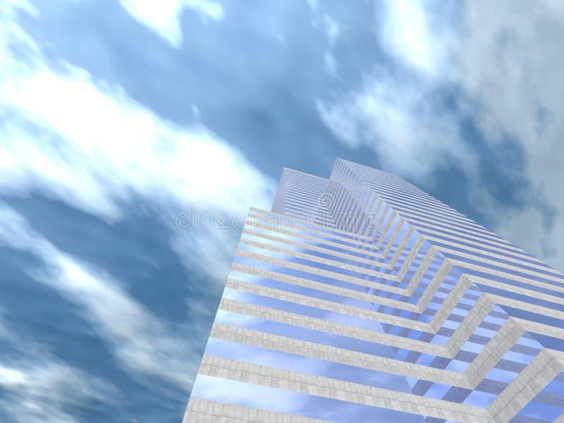 De collectieve bouw 05 vector illustratie