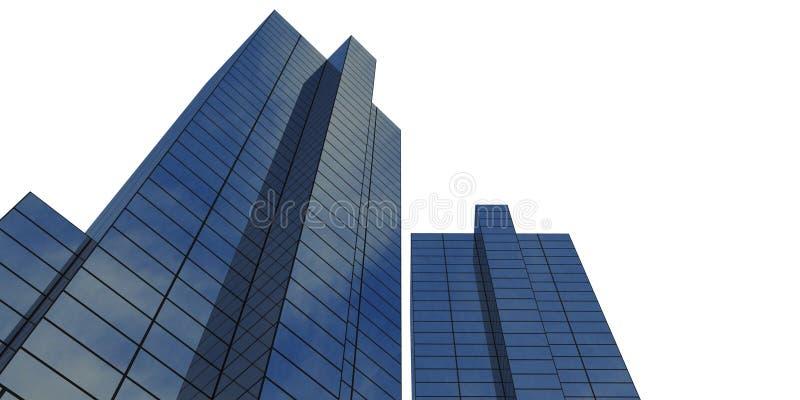 de collectieve bouw stock illustratie