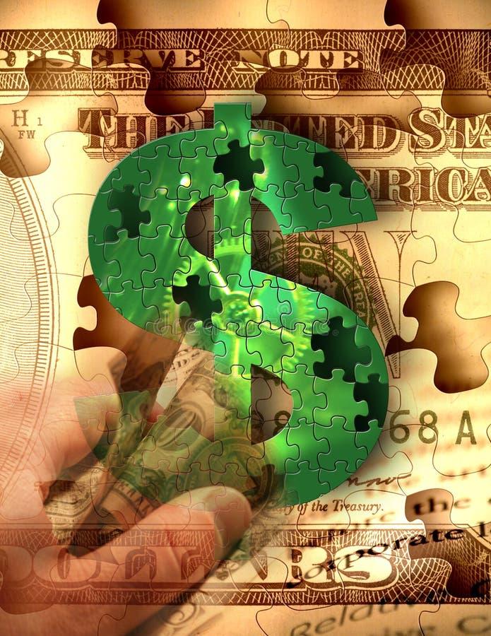 De collectieve Greep van het Geld vector illustratie