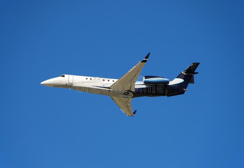 De collectieve straal van Embraer Lgacy stock fotografie