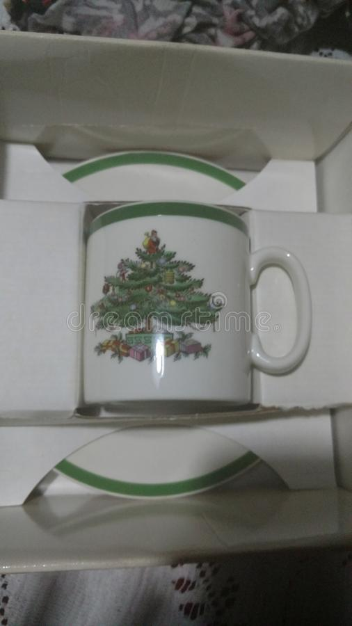 De collector van de Kerstmiskop royalty-vrije stock foto's