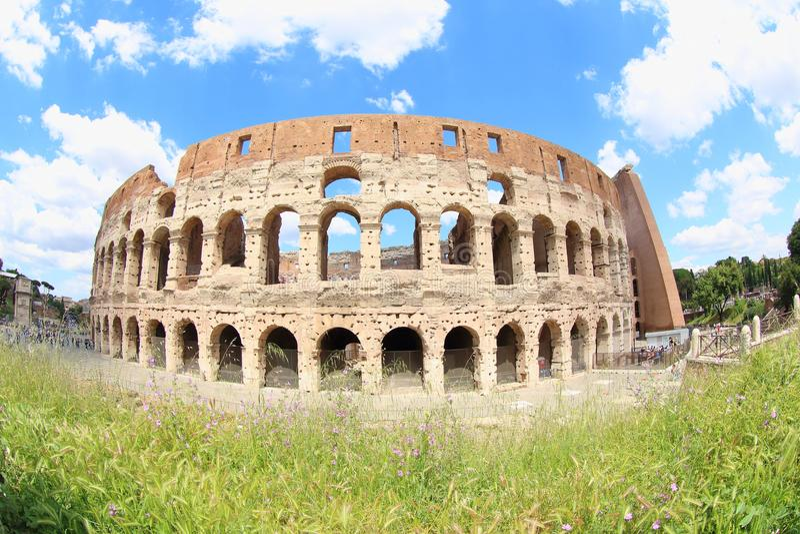 De Colosseum-Arena, Rome royalty-vrije stock fotografie