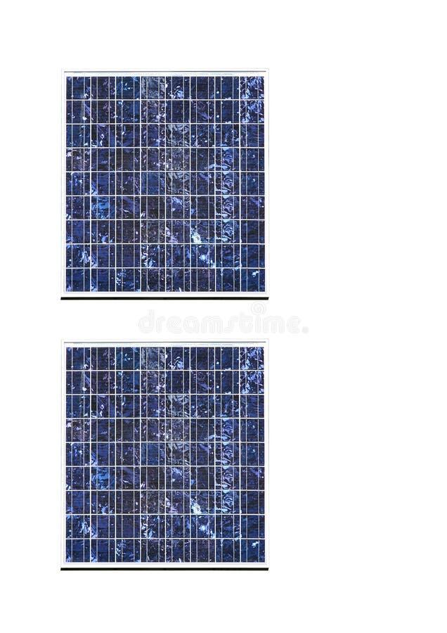De Comités van de Zonne-energie stock fotografie