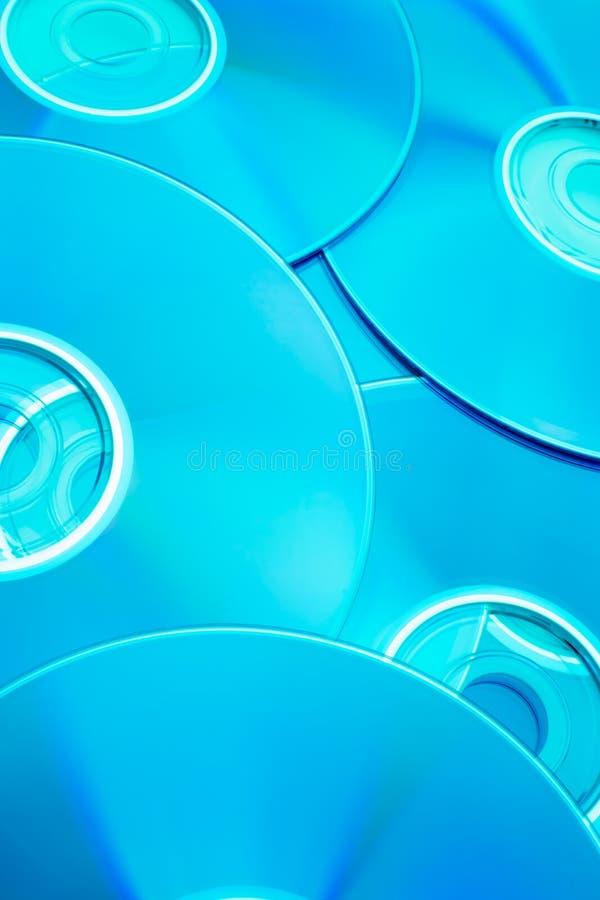 De compact disc van de placer stock foto's
