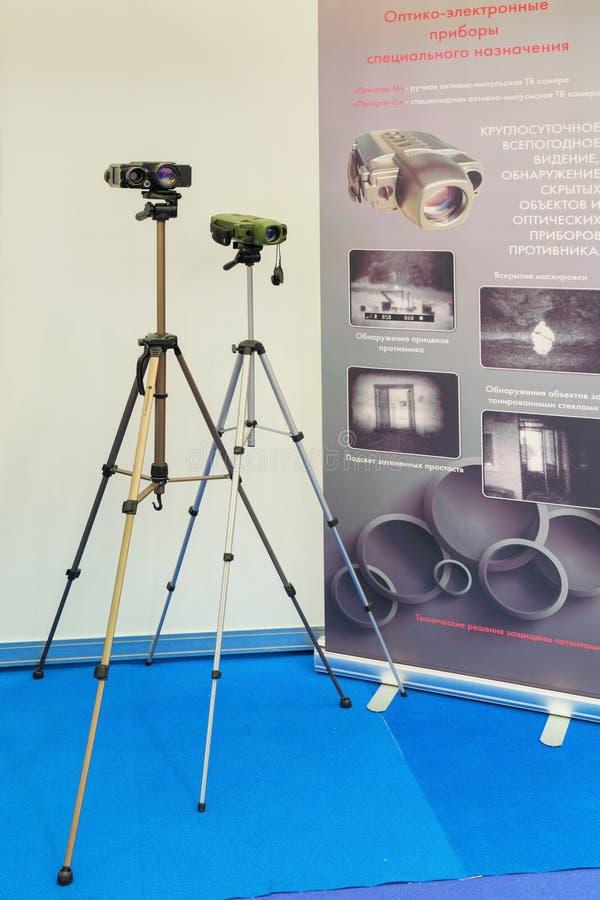 De compacte optisch-elektronische apparaten royalty-vrije stock afbeeldingen