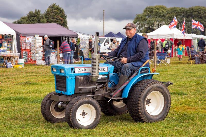 De Compacte Tractor van ISEKI TX2140 royalty-vrije stock foto