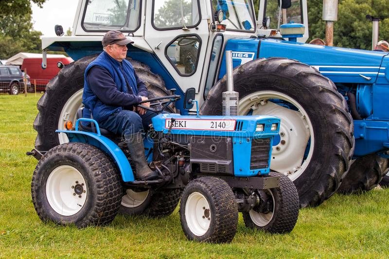 De Compacte Tractor van ISEKI TX2140 stock fotografie