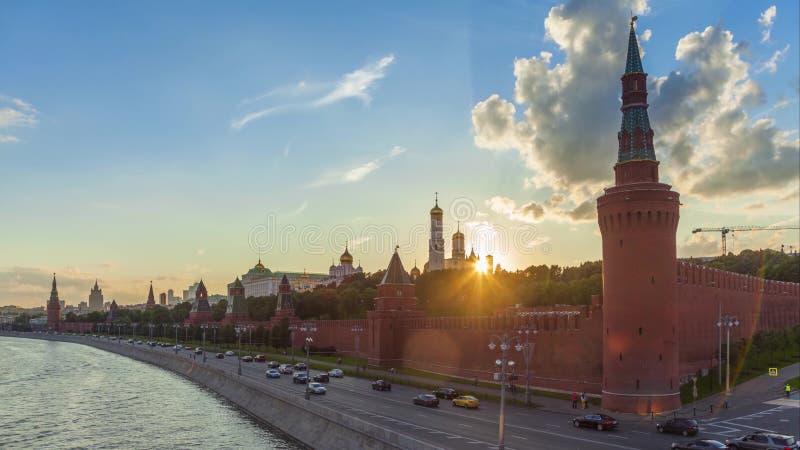 De compilatie van de de tijdtijdspanne van Moskou stock video