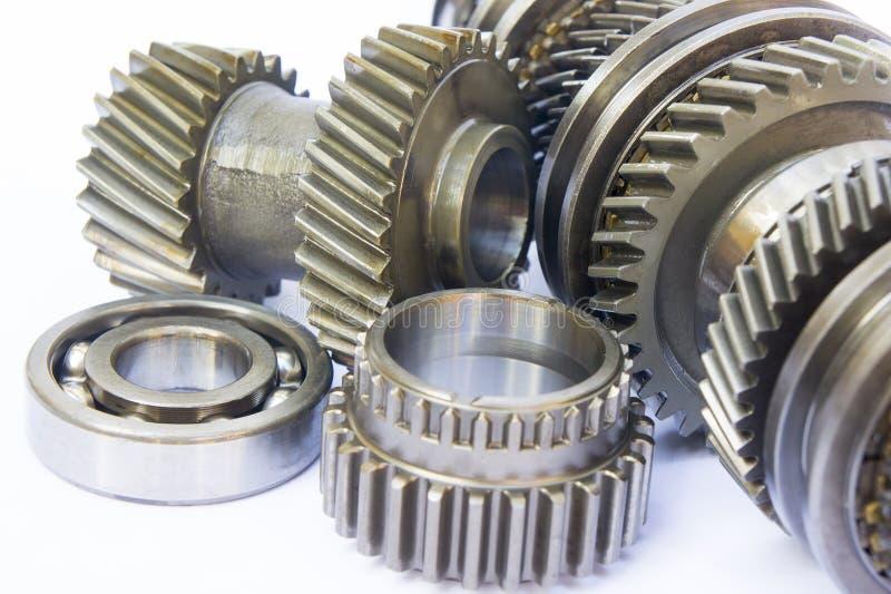 De component van de versnellingsbak stock fotografie