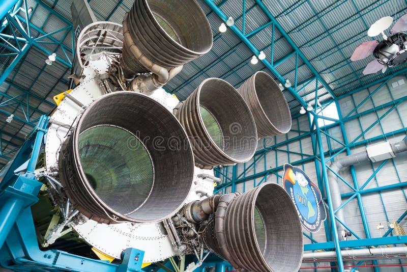 De componenten van de straalmotor stock foto