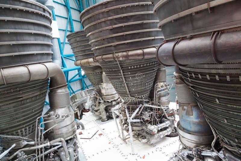 De componenten van de straalmotor stock afbeelding
