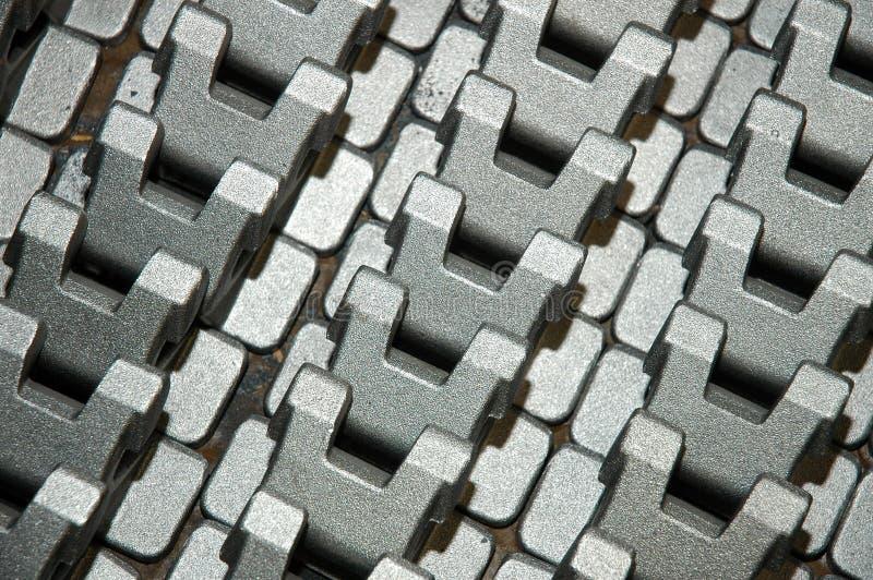 De componenten van het metaal royalty-vrije stock afbeelding