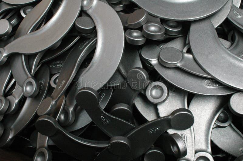 De componenten van het metaal royalty-vrije stock afbeeldingen