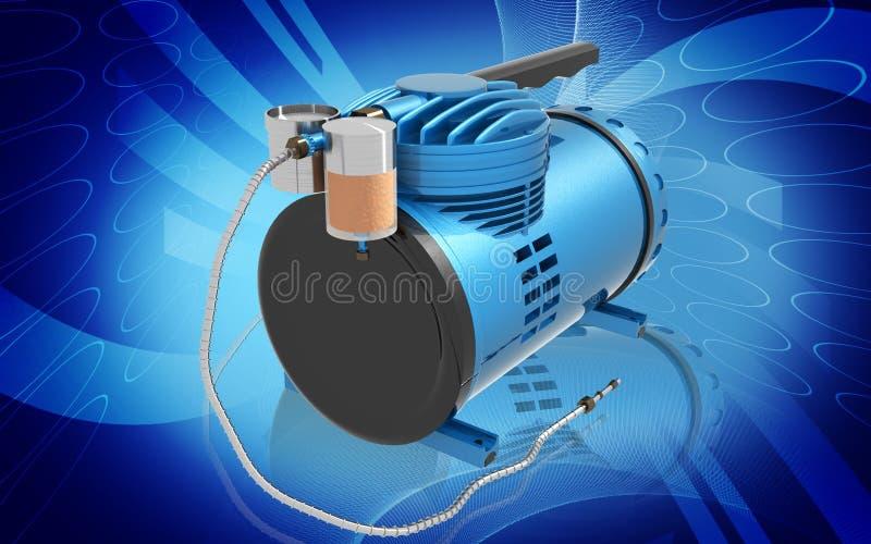 De Compressor van de lucht stock illustratie