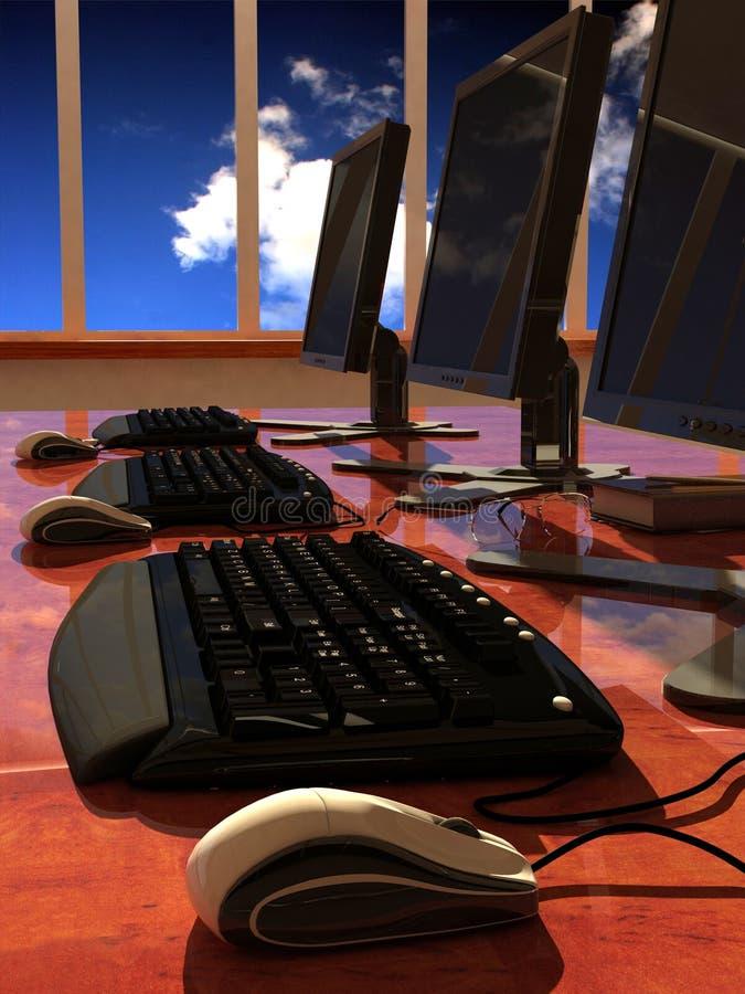 De computer royalty-vrije illustratie