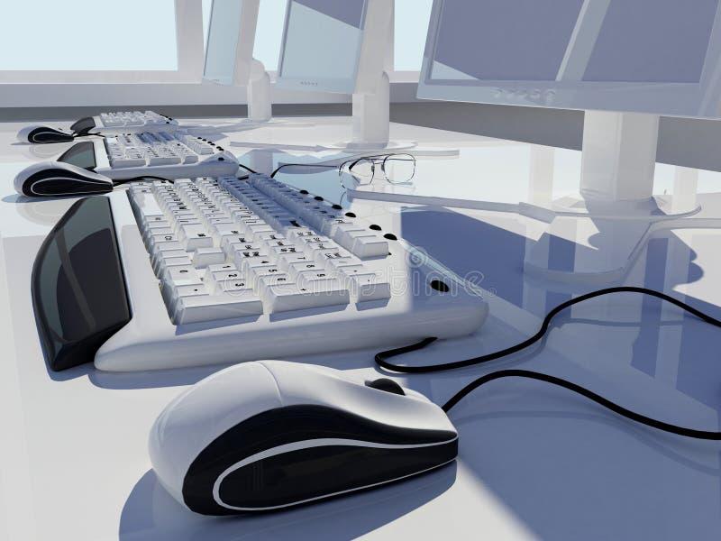 De computer stock illustratie