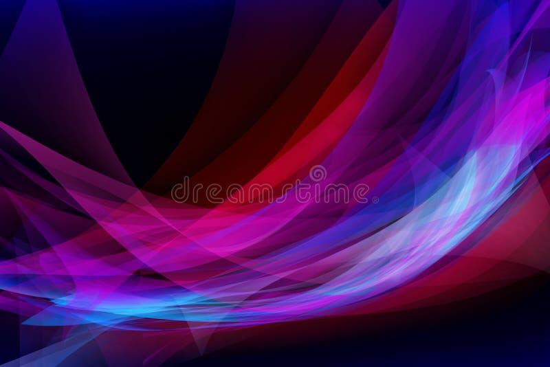 De computer ontwierp kleurrijke abstracte achtergrond royalty-vrije stock fotografie