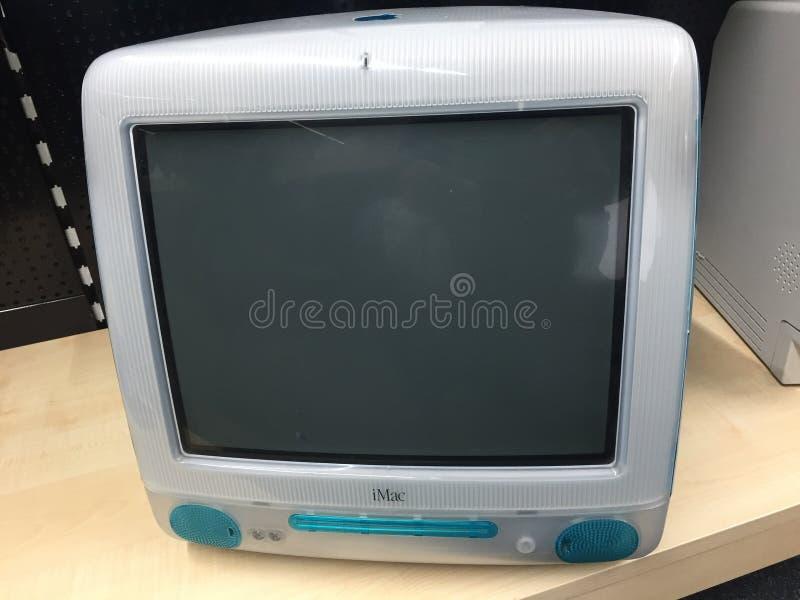 De computer van Apple iMac G3 stock foto's
