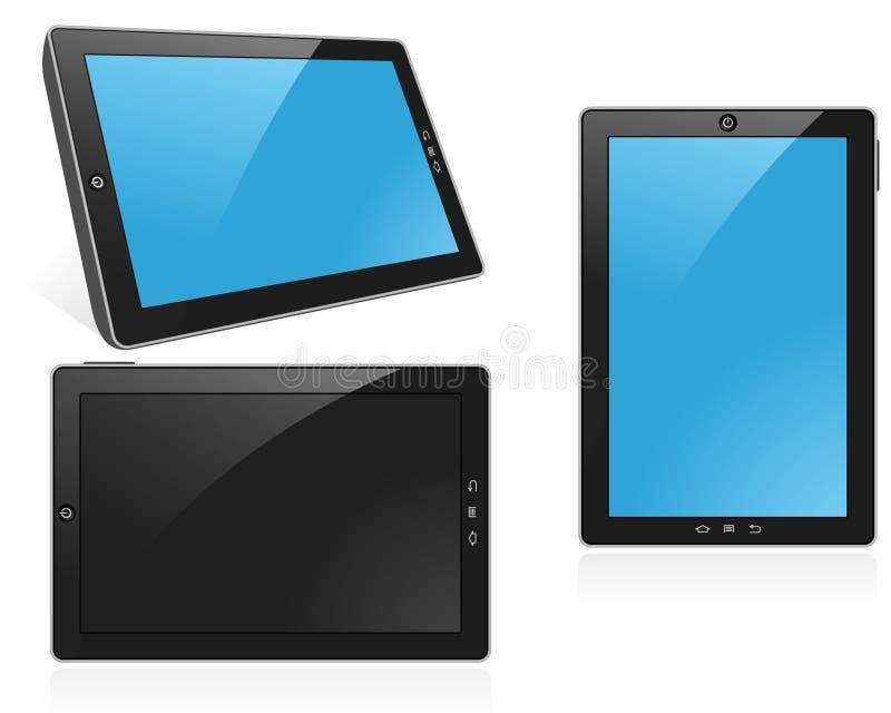 De Computer van de tablet stock illustratie
