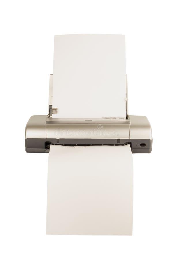 De computerprinter van de technologie stock afbeeldingen