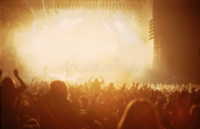 De concert photos stock