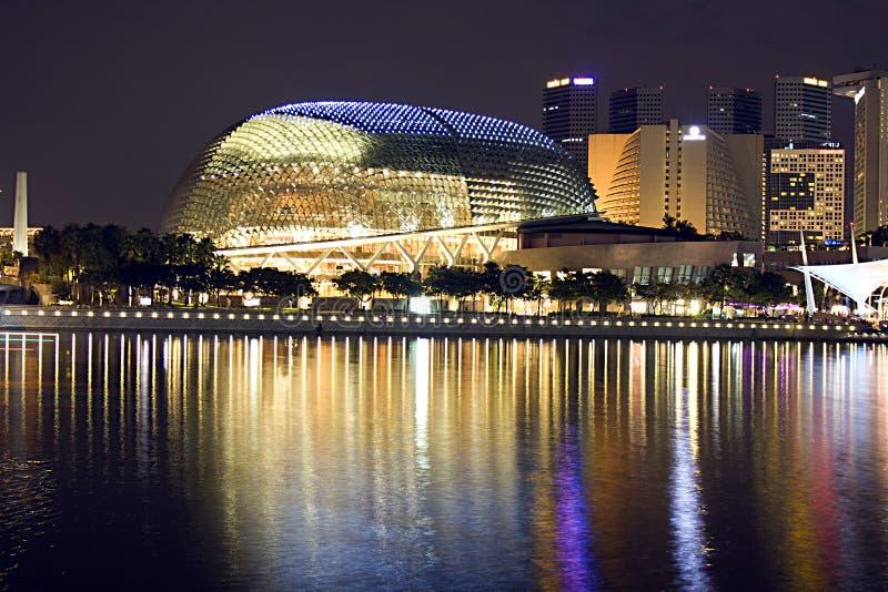 De concertzaal van Singapore royalty-vrije stock foto