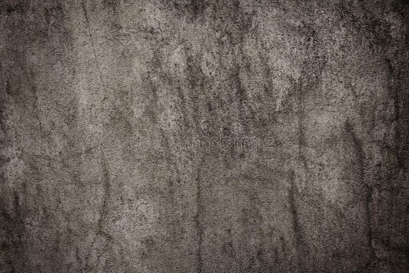 De concrete donkere grijze textuur kan gebruikt als achtergrond stock illustratie