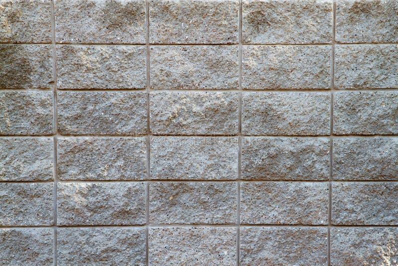 De concrete Muur van het Blok stock afbeelding