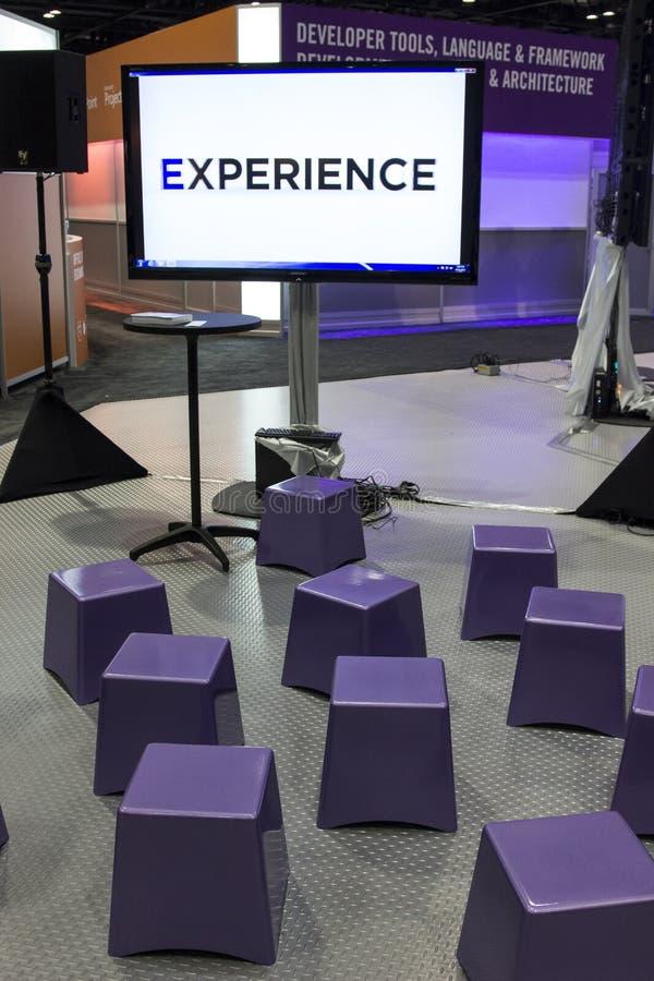 De Conferentie 2012 van Microsoft TechEd royalty-vrije stock fotografie