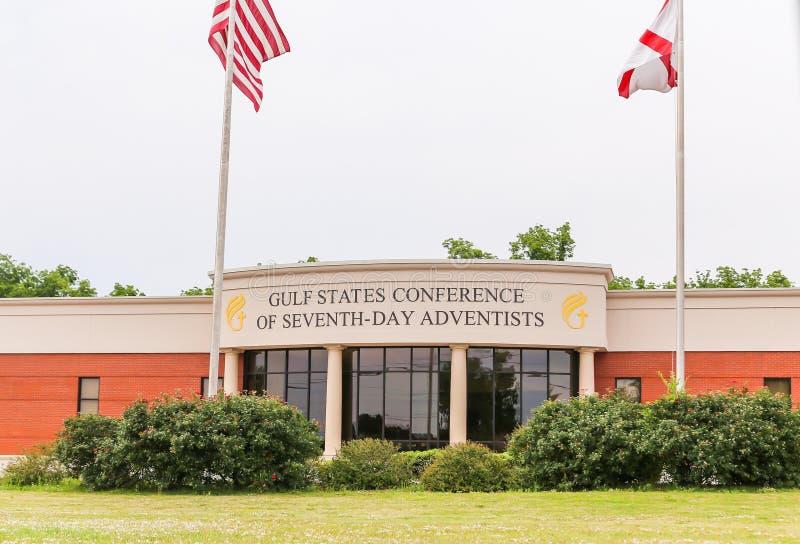 De Conferentie van de Golfstaat van Zevende Dag Adventisten stock afbeeldingen