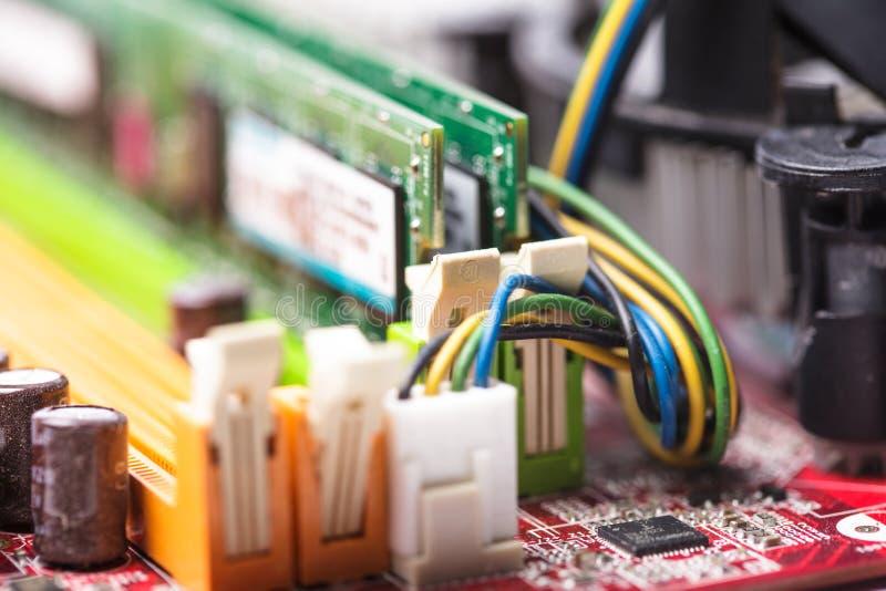 De contactdoos van de RAM stock afbeeldingen