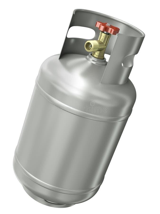 De container van het gas royalty-vrije illustratie