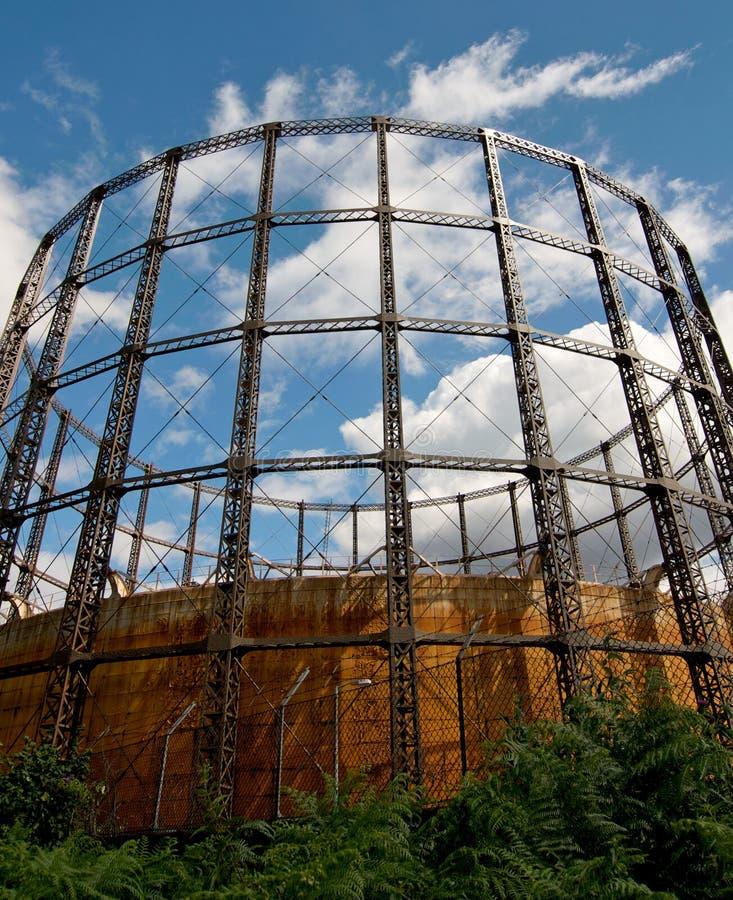 De container van het gas royalty-vrije stock foto