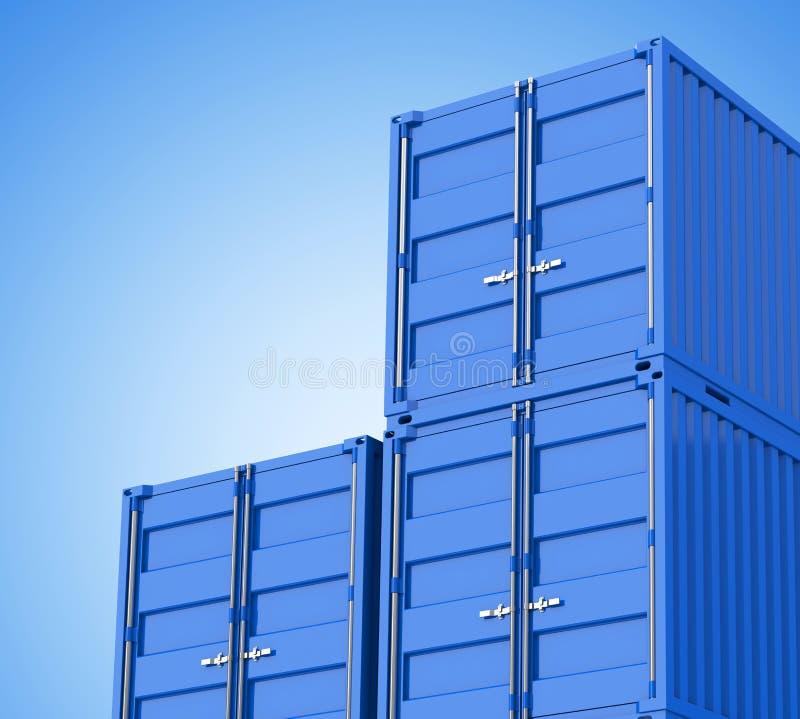 De containers royalty-vrije illustratie