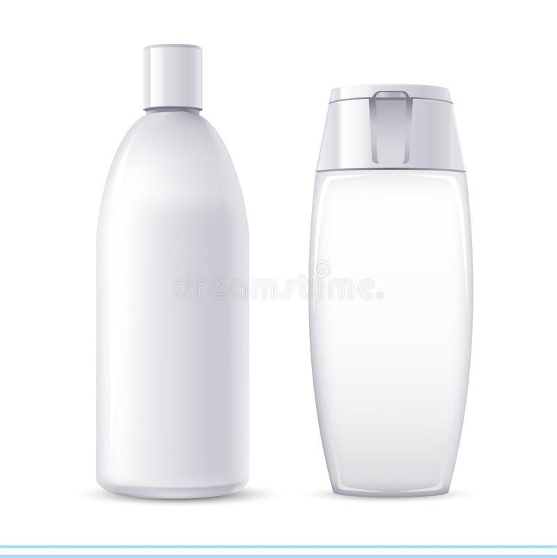 De containers van de shampoo royalty-vrije illustratie