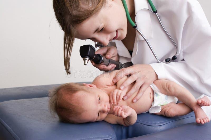 De Controle van de baby stock foto's