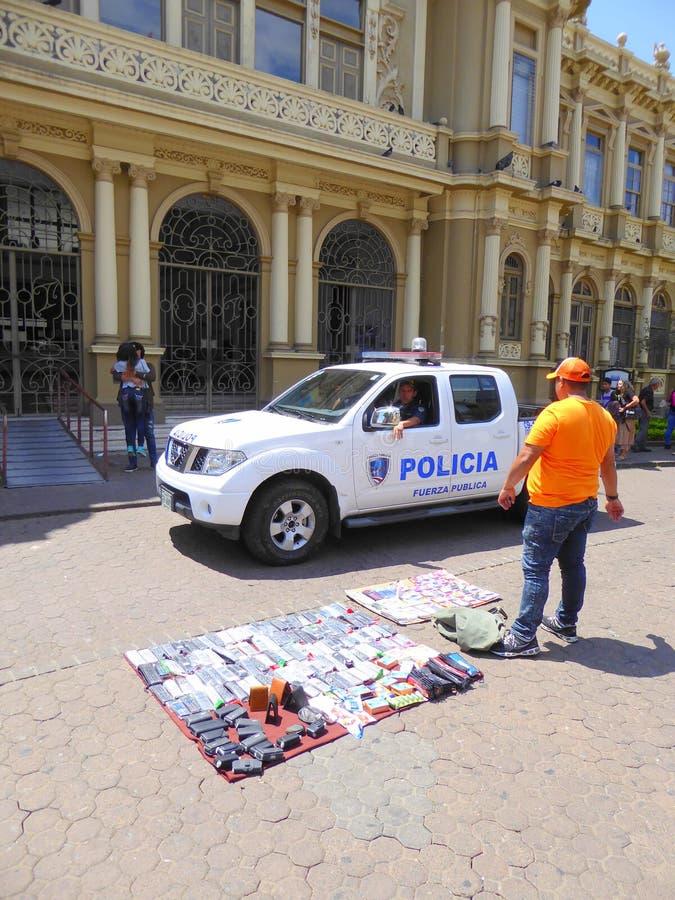 De controle van de politie royalty-vrije stock afbeelding