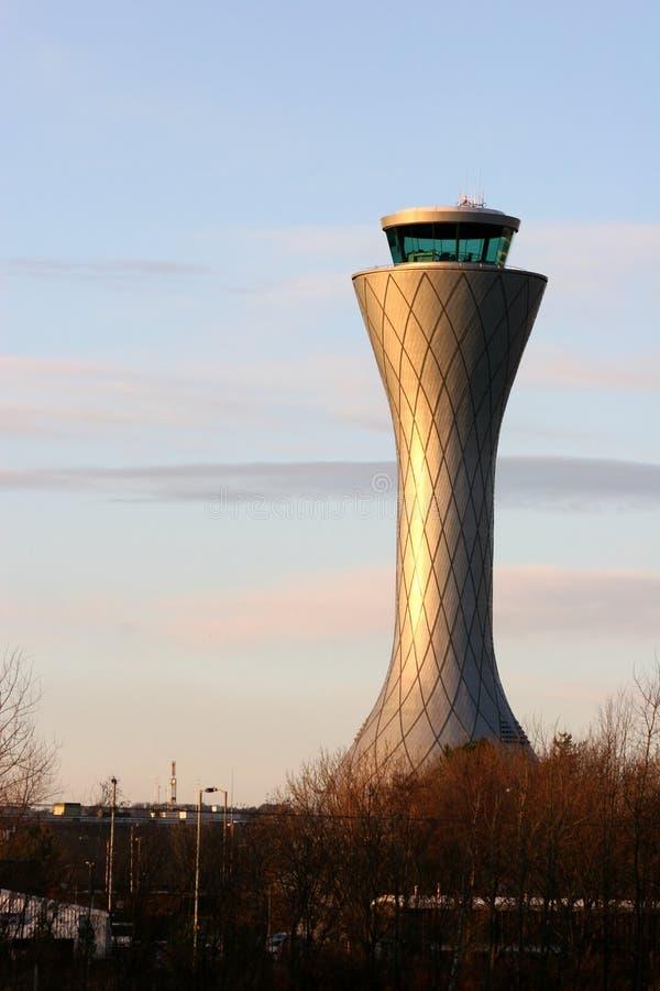 De Controle van het Luchtverkeer stock foto