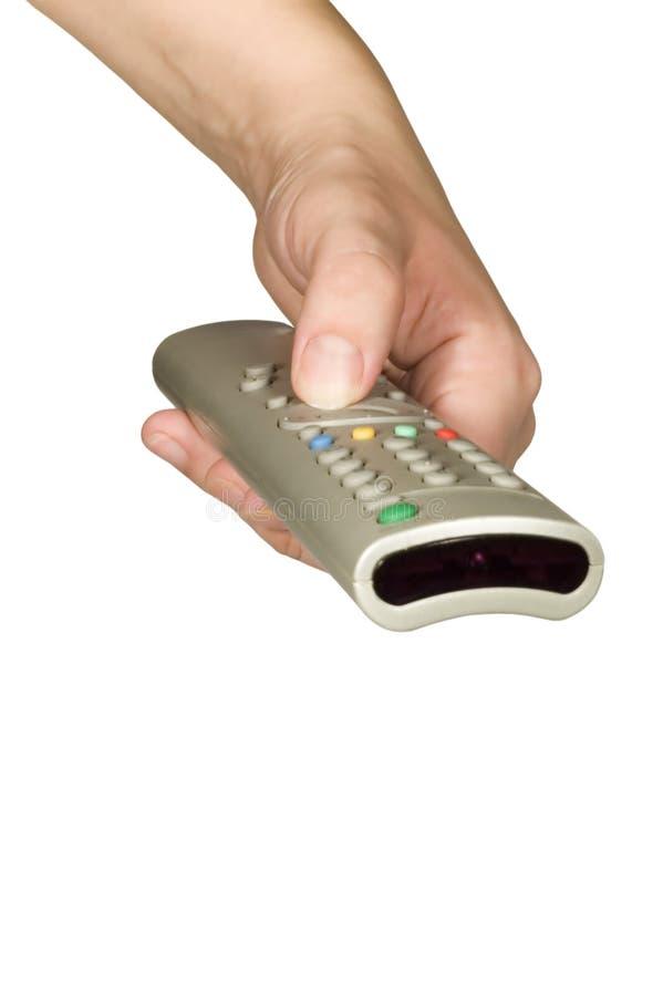 De controle van TV stock fotografie