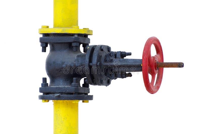 De controleklep van het gas stock fotografie
