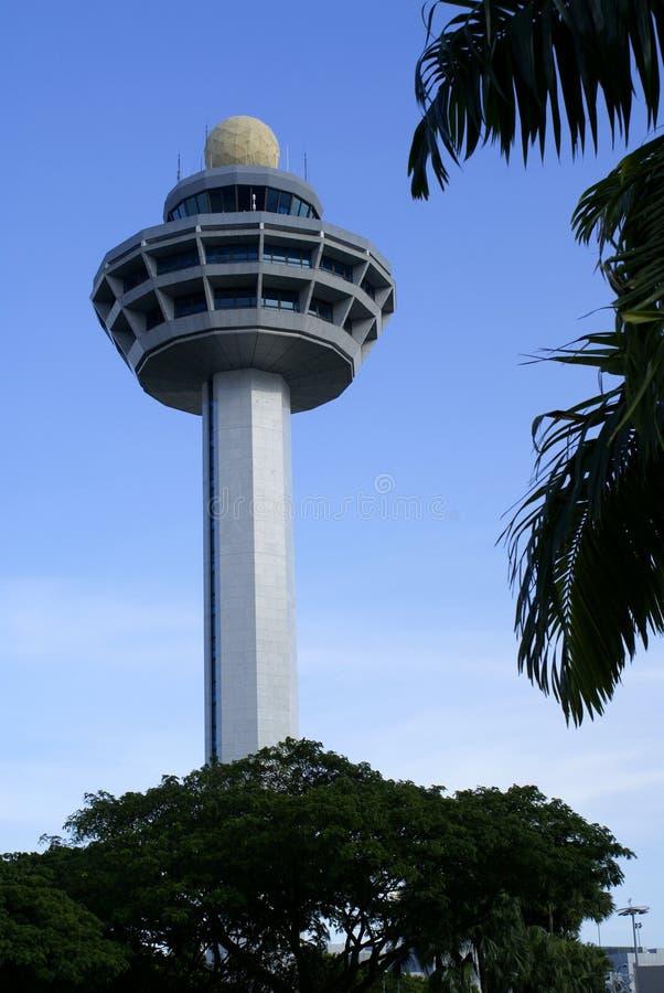 De controletoren van de luchthaven royalty-vrije stock afbeelding