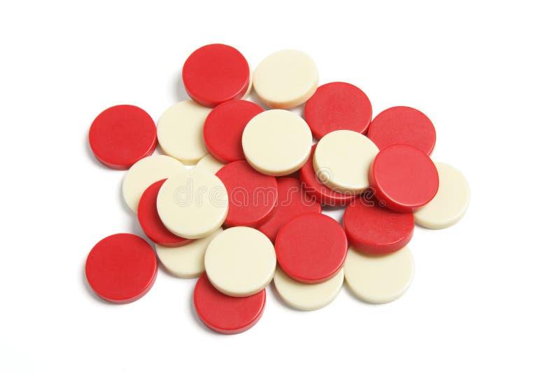 De Controleurs van het backgammon stock fotografie