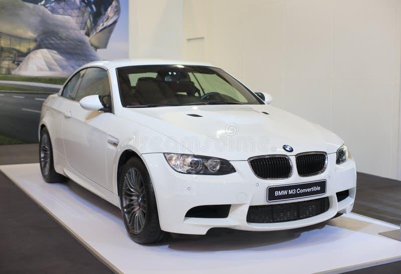 De convertibele auto van BMW m3 royalty-vrije stock foto