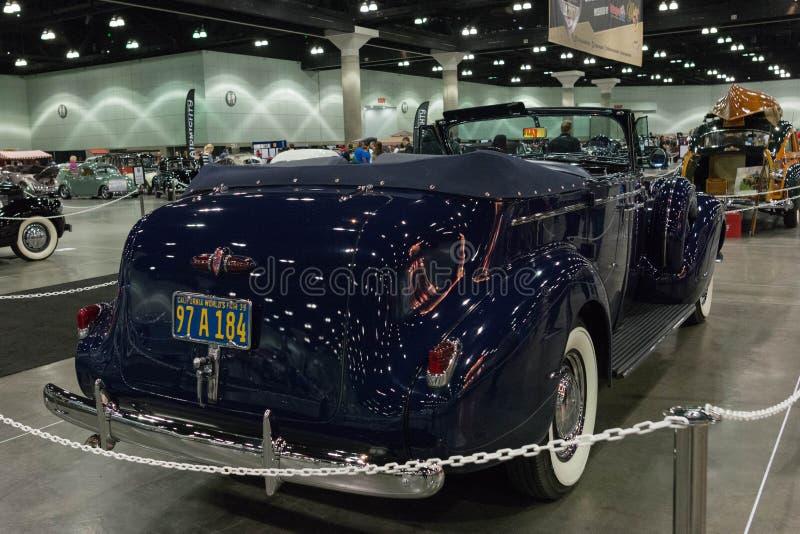 De Convertibele Sedan van Buick Roadmaster stock afbeeldingen