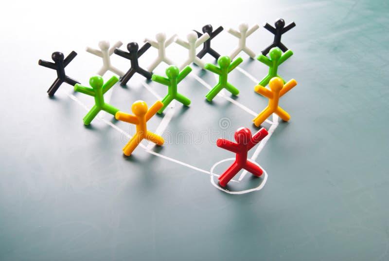 De corporation d'organisation, diagramme de hiérarchie illustration libre de droits
